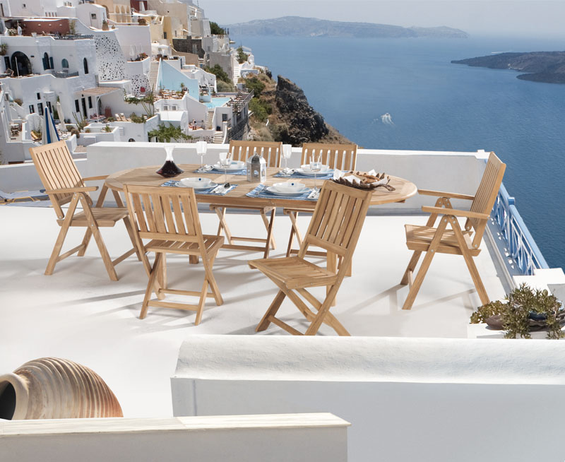Terraces of Santorini